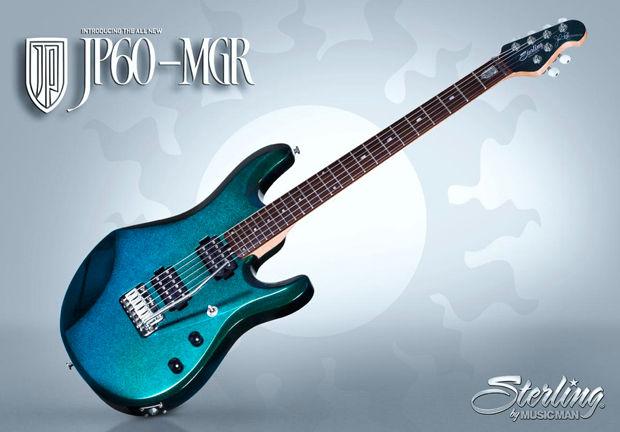 Sterling by Music Man JP60-MGR John Petrucci