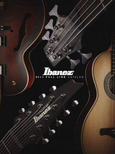 Ibanez 2015 catalog