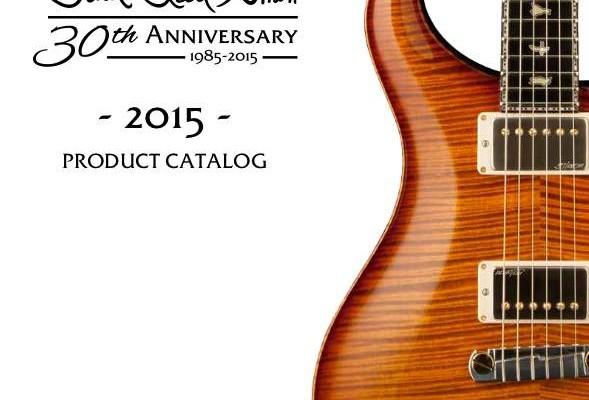 prs guitars catalog 2015