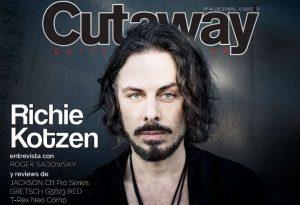 Cutaway Guitar Magazine #44: Richie Kotzen, Jackson...