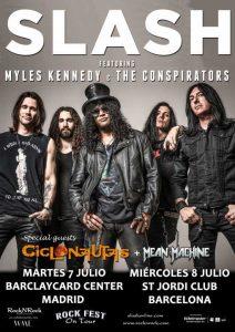 Conciertos de Slash en España