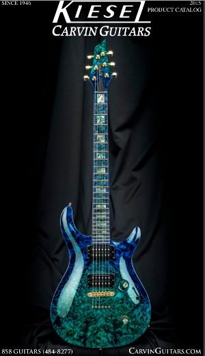 Kiesel Carvin Guitars 2015