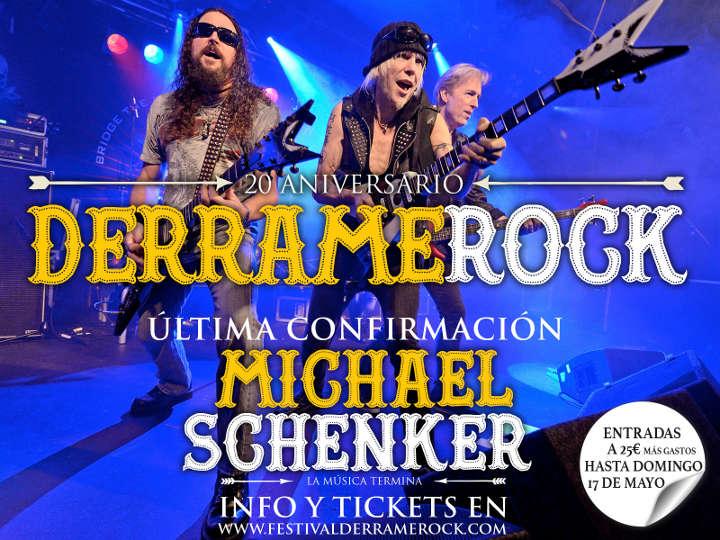 Michael Schenker actuará en el Derrame Rock