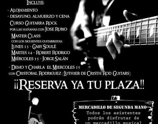 Rock Guitar Camp de José Rubio