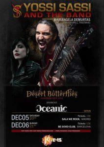 Conciertos del guitarrista Yossi Sassi en España