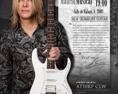 Andy Timmons 2015 Clinic Tour en Madrid Musical