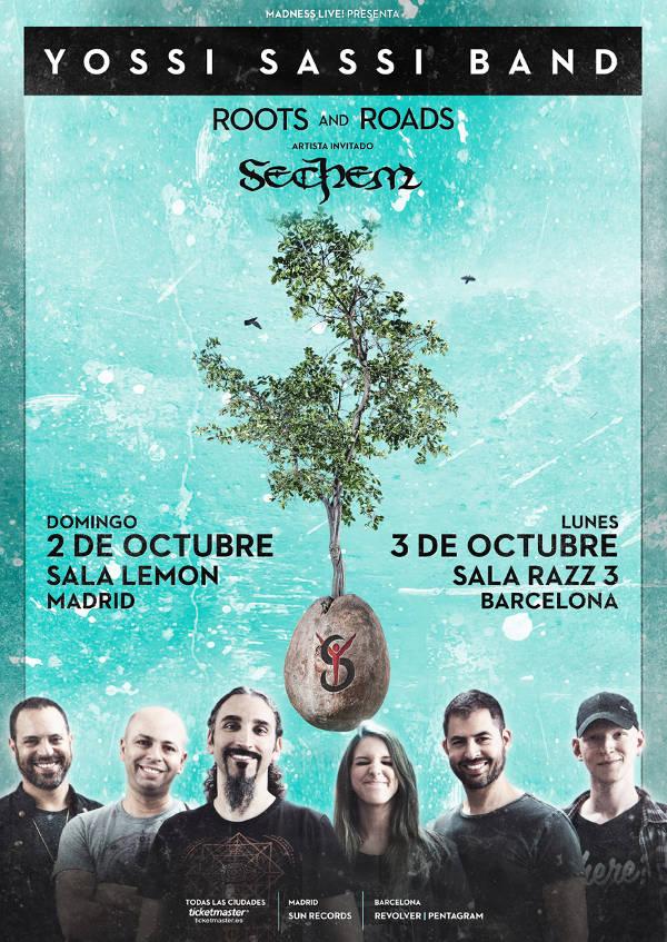 Conciertos de Yossi Sassi Band en España