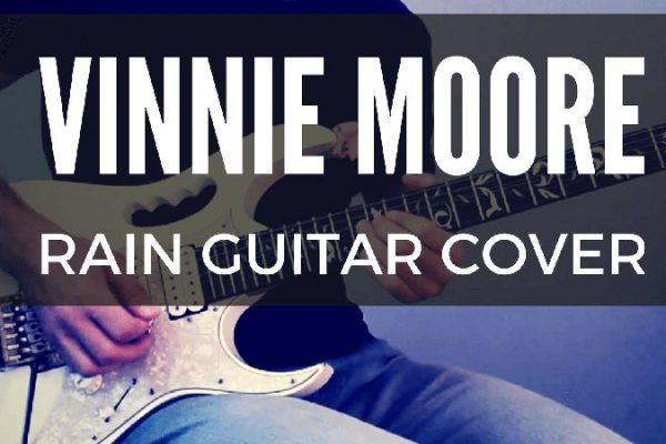 Vinnie Moore Rain Guitar Cover