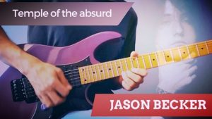 Jason Becker Temple Of The Absurd Cover