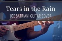 Joe Satriani Tears in the rain cover