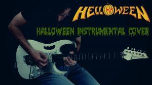 helloween halloween instrumental cover