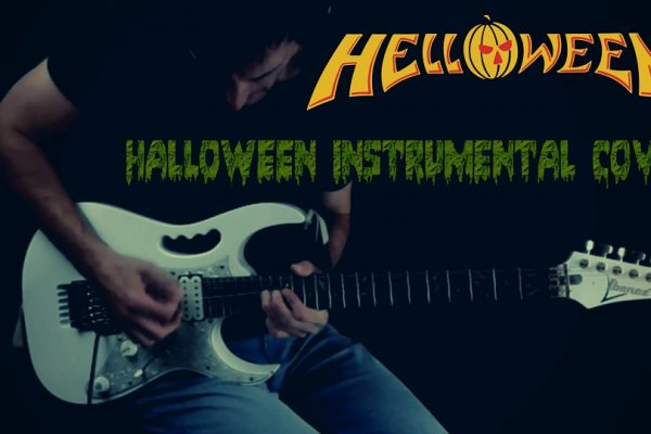 helloween halloween instrumental cover