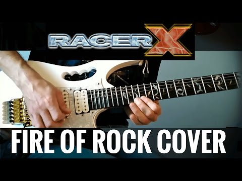 Racer X Fire Of Rock Cover