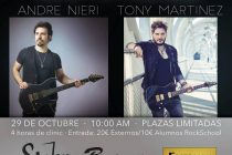 MasterClass Tony Martinez Andre Nieri