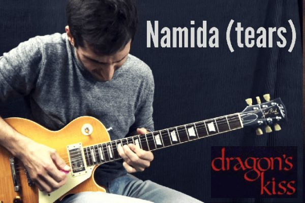 Marty Friedman Namida Tears Guitar Cover
