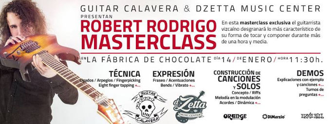 Masterclass de Robert Rodrigo en Vigo