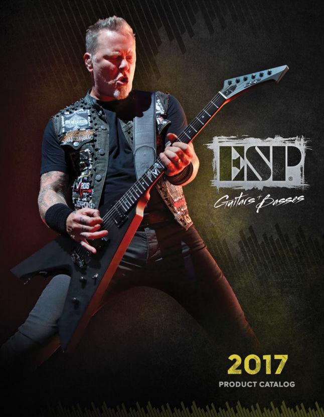 ESP Guitars 2017 Catalog