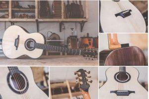 Alejandro Abellán presenta las nuevas guitarras acústicas de Luis Guerrero