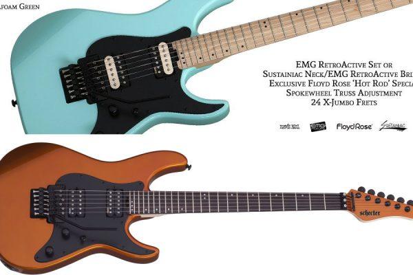 """Nuevas guitarras Schecter """"Old School"""" SVSS Series"""