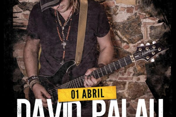 Show room de David Palau en Fanatic Guitars