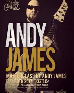 Clinic de Andy James en Barcelona