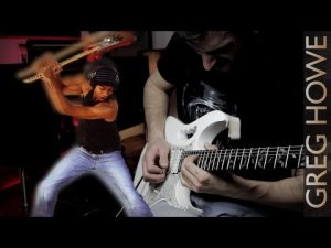 Greg Howe Kick It All Over Guitar Cover