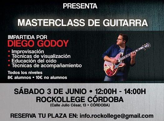 Master Class Diego Godoy
