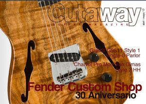 Cutaway Guitar Magazine #58: Fender Custom Shop, Gretsch, Charvel, Marshall...