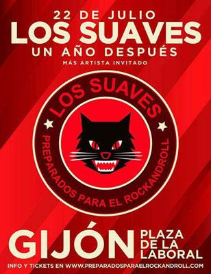 Los Suaves Concierto Gijón 2017