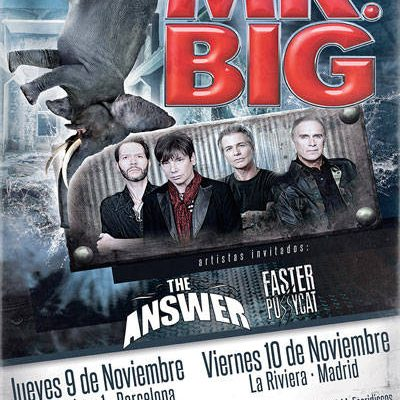 Nuevo disco, single y conciertos de Mr. BIG