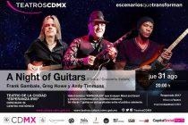 Frank Gambale, Greg Howe y Andy Timmons - concierto en México