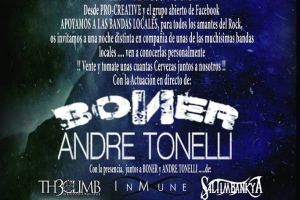 Concierto gratuito de Andre Tonelli en Barcelona