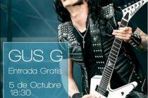 Clinic gratuito de Gus G. (Firewind) en Leturiaga