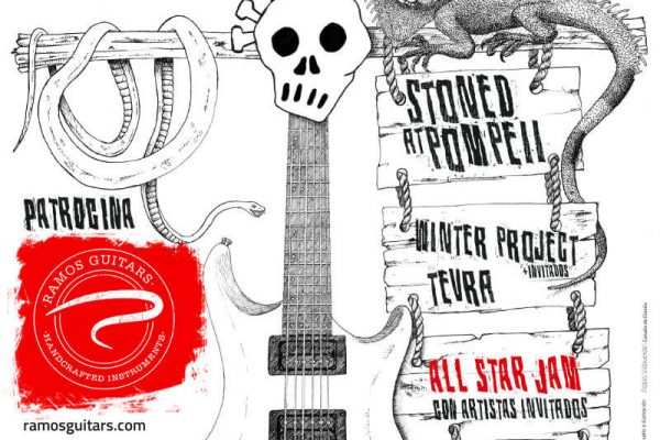 Cartel Guitar Calavera Fest AF