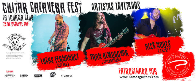invitados Guitar Calavera fest