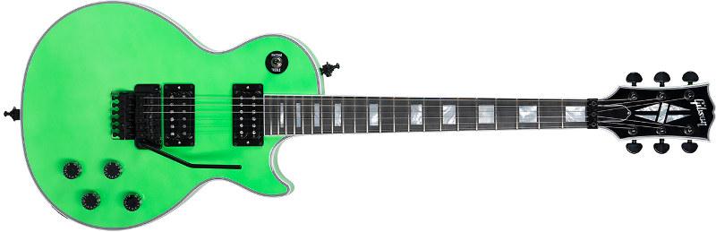 """Gibson Custom """"Axcess"""" Les Paul con llamativos acabados 'neon'"""