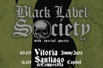 Conciertos de Zakk Wylde en España con Black Label Society