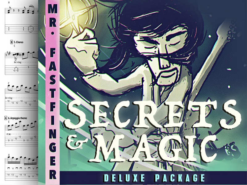 Secrets & Magic: nuevo single de Mr. Fastfinger