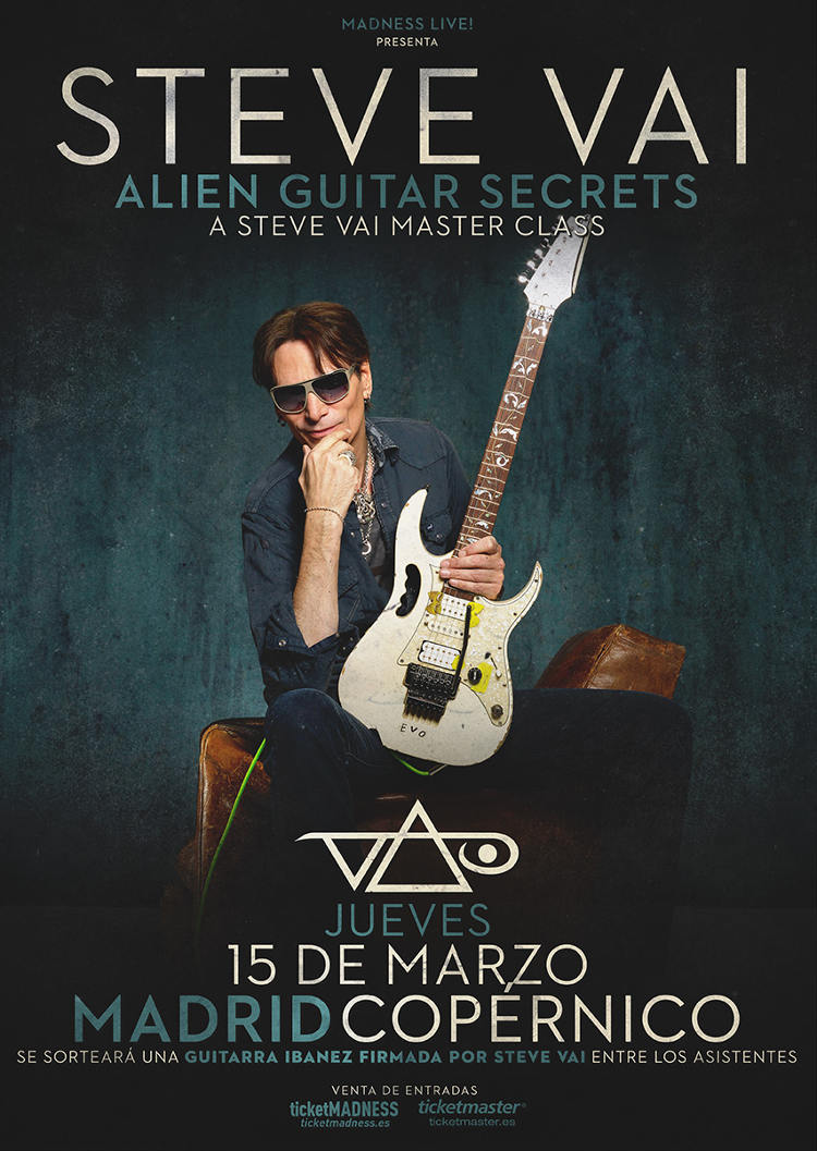 Steve Vai Alien Guitar Secrets