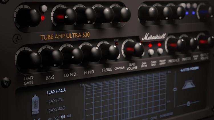 Mercuriall Tube Amp U530 (Engl E530 en formato digital)