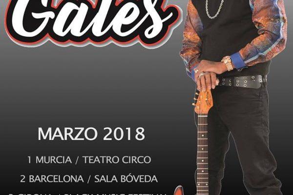 Conciertos de Eric Gales en marzo España