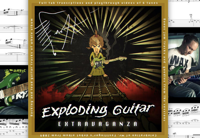 Mr. Fastfinger: Exploding Guitar Extravaganza