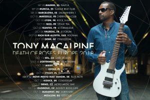 Tony Macalpine European Tour
