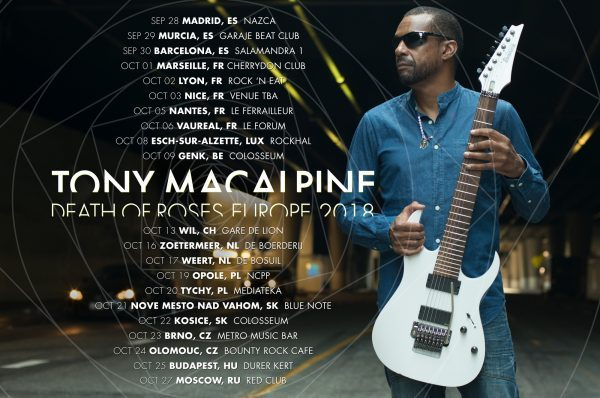 Tony Macalpine European Tour