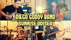 Diego Godoy en el TOP 25 de Guitar Idol 2018