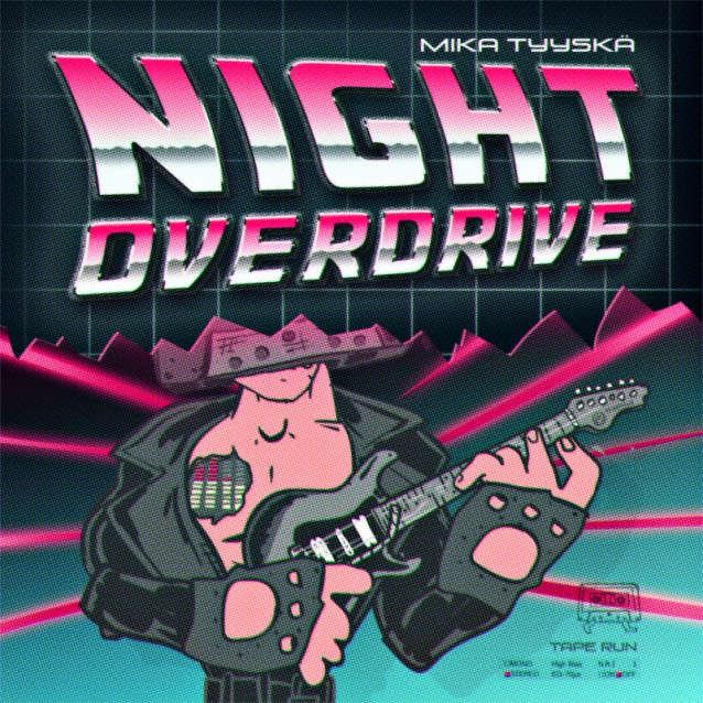 NIGHT OVERDRIVE - Nuevo álbum de Mika Tyyskä