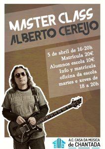 Master Class de Alberto Cereijo en Lugo