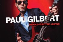 """Behold Electric Guitar"" - Nuevo vídeo y álbum de Paul Gilbert"