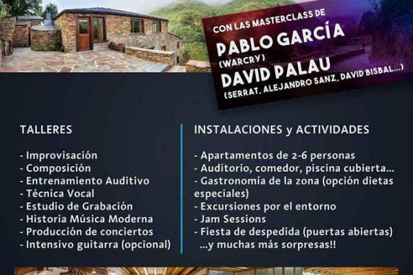 """Rock School Coruña """"summer camp"""""""