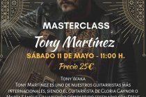Masterclass Tony Martinez Zaragoza